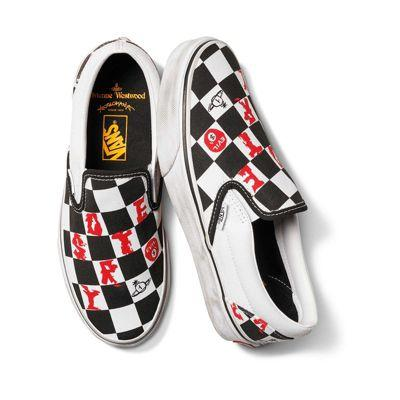 Vans Vivienne Westwood X Vans Slip-on (checker/true White)