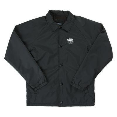 Vans Boys Torrey Coaches Jacket (black White)