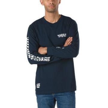 Vans Crossed Sticks Long Sleeve T-shirt (navy)