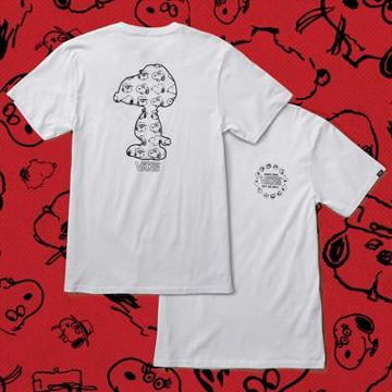 Vans X Peanuts Snoopy's Brothers T-shirt (white)