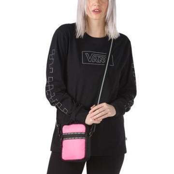 Vans After Dark Reflective Crossbody Bag (knockout Pink/black)