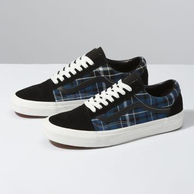 Vans Plaid Mix Old Skool (black/navy)
