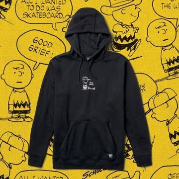 Vans X Peanuts Good Grief Pullover Hoodie (black)