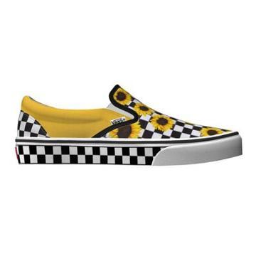 Vans Customs Sunflower Classic Slip-on (custom)