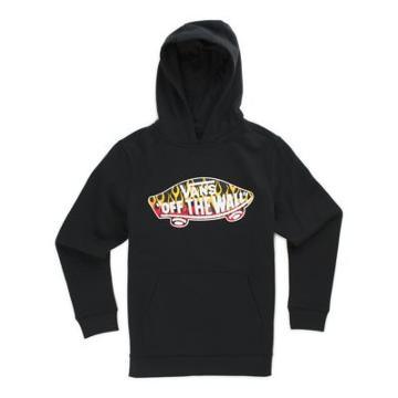 Vans Boys Otw Pullover Hoodie (black/flames)