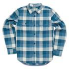 Vans Boys Alameda Buttondown Shirt (poseidon/blue Ashes)
