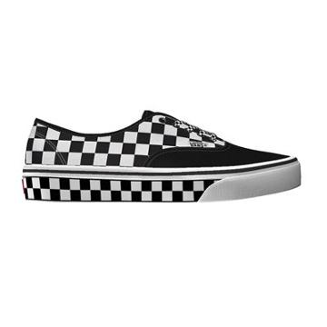 Vans Customs Checkerboard Authentic Wide (customs)
