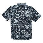 Vans Boys Trippin Batik Buttondown Shirt (trippin Dress Blues)
