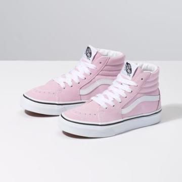 Vans Kids Sk8-hi (lilac Snow/true White)