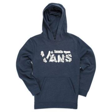 Vans Boys Vans Focus Pullover Hoodie (dress Blues Heather)