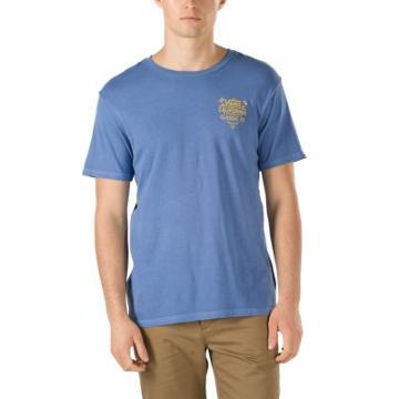 Vans Cali Classic Co Overdye T-shirt (delft)