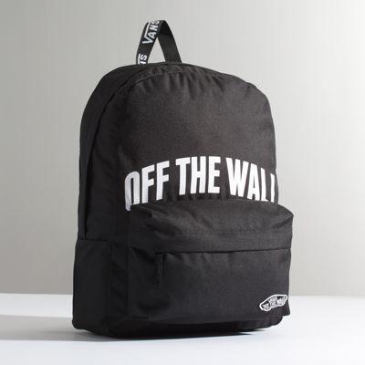 9a83bf5375 Vans Sporty Realm Backpack (black Otw)