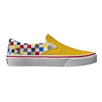 Vans X Peanuts Customs Slip-on (custom)