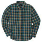 Vans Boys Alameda Flannel Shirt (corsair Dirt)