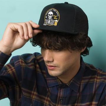 Vans Smooth & Mellow Trucker Hat (black)