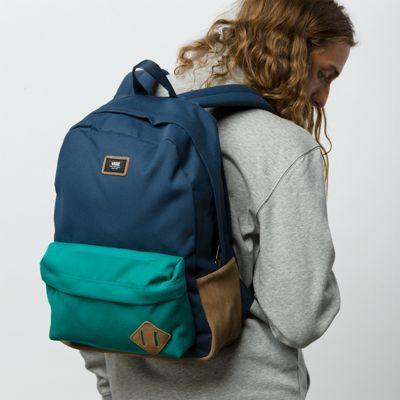 Vans Old Skool Backpack (quetzal/dress Blues)
