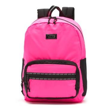 Vans After Dark Reflective Backpack (knockout Pink/black)