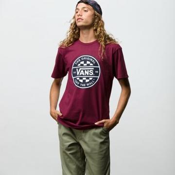 Vans Checker Co. T-shirt (burgundy)