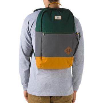 Vans Van Doren Ii Backpack (sycamore Colorblock)