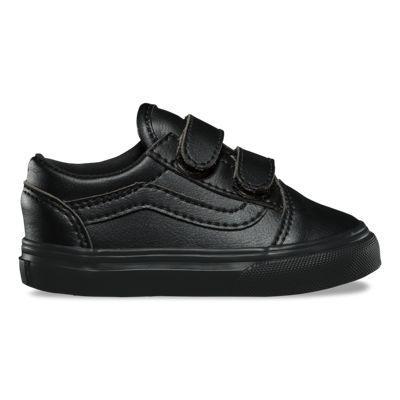 Vans Toddler Classic Tumble Old Skool V (black Mono)