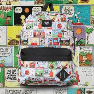 Vans X Peanuts Old Skool Backpack (comics)