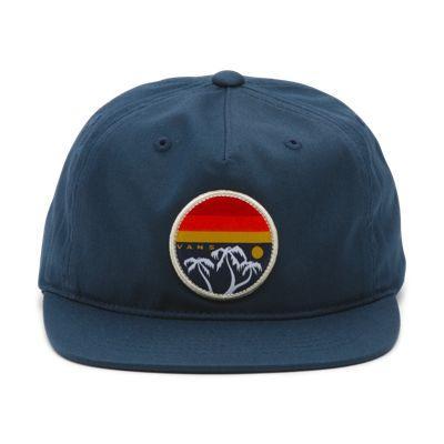 Vans Boys Fredrick Unstructured Hat (dress Blues)
