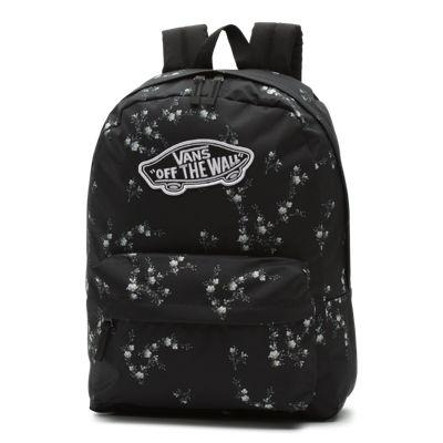 Vans Realm Backpack (dark Floral)