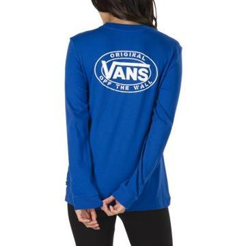 Vans Junction Long Sleeve Boyfriend T-shirt (surf The Web)