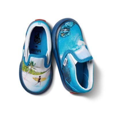 Vans X Molo Toddler Slip-on (surf Monster)