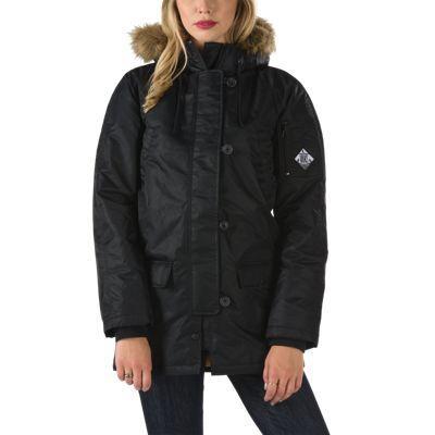 Vans Fuego Parka Jacket (black) Womens Jackets