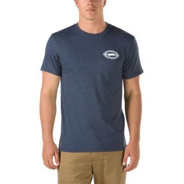 Vans Og Oval T-shirt (navy Heather)