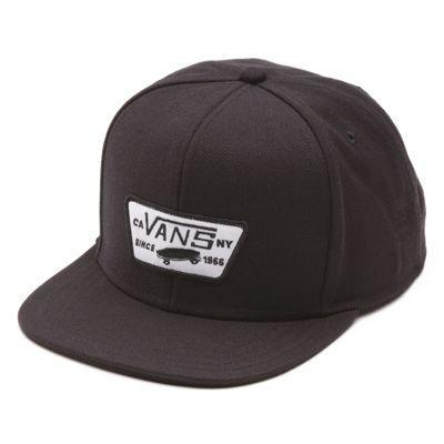 Vans Full Patch Snapback Hat (true Black)