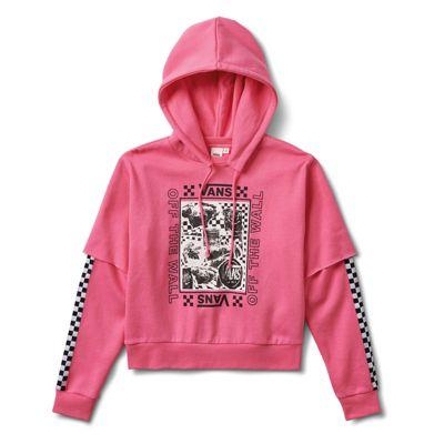 Vans Lady Vans Sting Hoodie (azalea Pink)