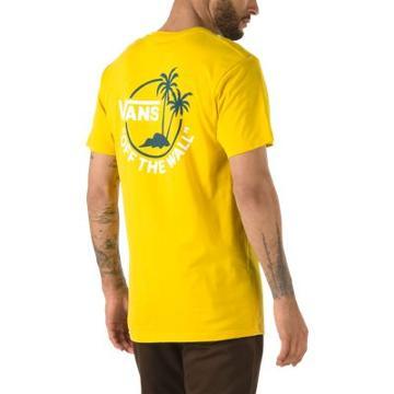 Vans Mini Dual Palm T-shirt (sulphur/gibraltar Sea)