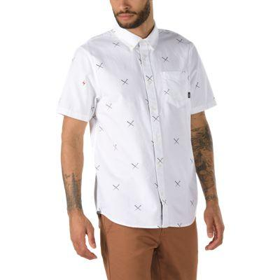 Vans X Harry Potter™ Short Sleeve Buttondown Shirt (spells/white)