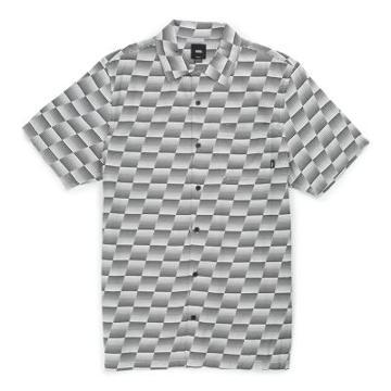 Vans Baker X Vans Speed Check Buttondown Camp Shirt (speed Check)