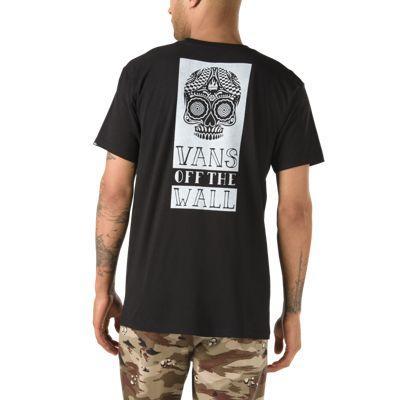 e5b6f4bbe9 Vans Muertos Short Sleeve T-shirt (black) | LookMazing