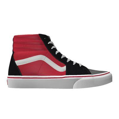 Vans Customs Color Block Sk8-hi (custom)