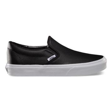 Vans Perf Leather Slip-on (black)