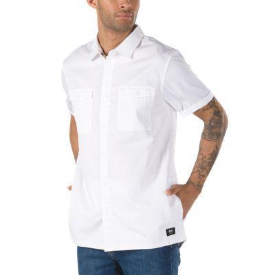 Vans Portal Buttondown Shirt (white)