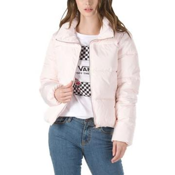 Vans Foundry Puffer Jacket (heavenly Pink)