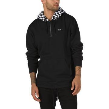 Vans Warp Check Quarter Pullover (black)