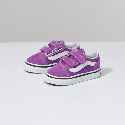 Vans Toddler Old Skool V (dewberry/true White)
