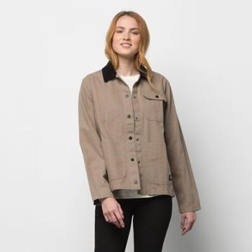Vans Drill Chore Jacket (military Khaki)