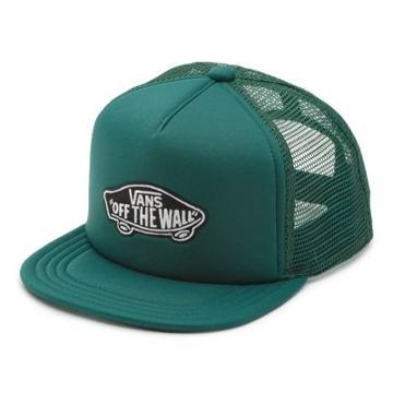 Vans Boys Classic Patch Trucker Hat (vans Trekking Green)