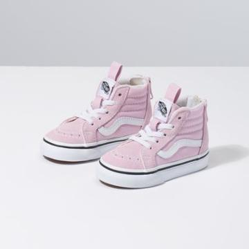 Vans Toddler Sk8-hi Zip (lilac Snow/true White)