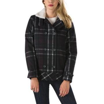 Vans Spirit Animal Jacket (black) Womens Jackets