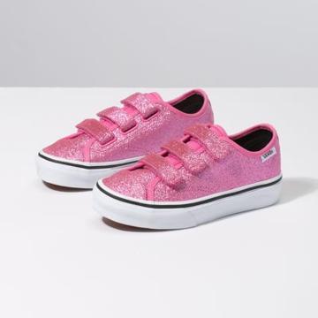 Vans Kids Glitter Style 23 V (azalea Pink/true White)