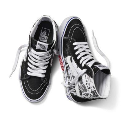 Vans Lady Vans Sk8-hi (black/true White)