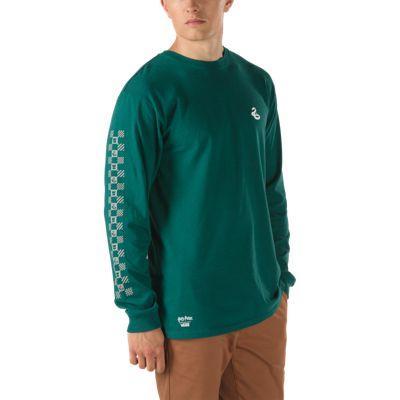 Vans X Harry Potter™ Long Sleeve T-shirt (syltherin/vans Trekking Green)